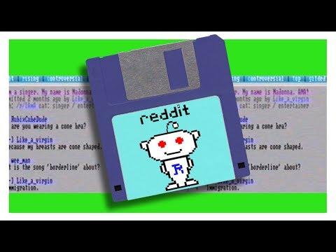 Reddit in the 1980s