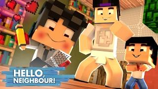 Minecraft: HELLO NEIGHBOR - O WIIZINHO TA APAIXONADO PELA FILHA DO VIZINHO!