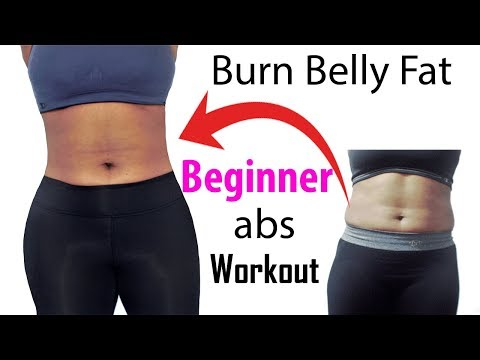 6 MIN beginner ab workout for flat tummy (easy abs workout that really works) how to lose belly fat