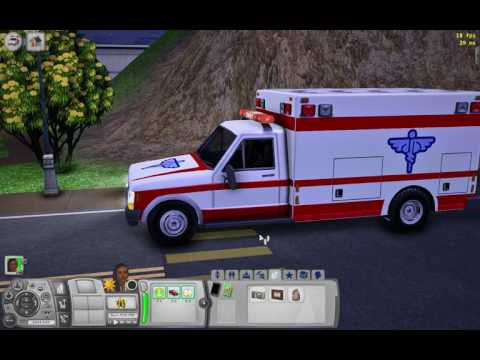 Converting the Sims 2 Ambulance to Sims 3