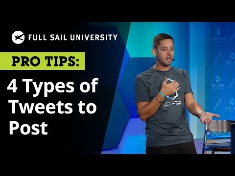 The 4 Types of Tweets You Should be Posting on Twitter According to a Brand Strategist | Full Sail