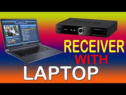 How To Connect Dish Receiver With Laptop / Desktop