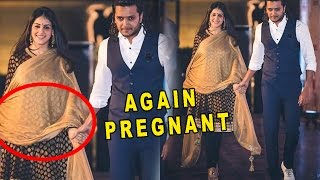 Genelia D'Souza Again Pregnant | Riteish Shared a Cute Pic with wife Genelia - Reveal