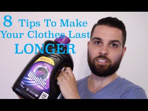 8 Tips To Make Your Clothes Last LONGER!