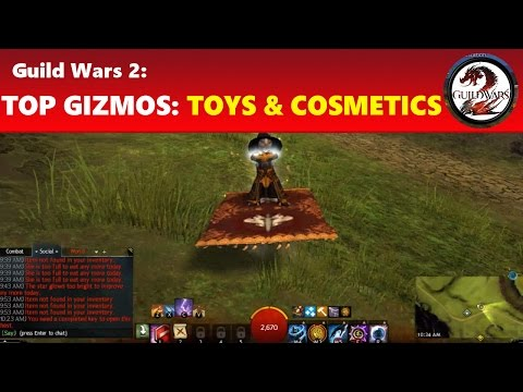Guild Wars 2: Top Most Useful & Fun Gizmos: Toys, Cosmetics and Portables