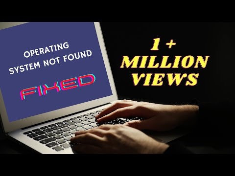 Operating System not found Solution PC [2017] HD