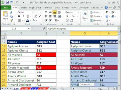 Excel Magic Trick 514: Conditional Formatting Duplicate Values (3 Methods)