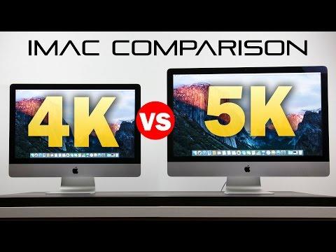 21.5-Inch 4k iMac vs 27-Inch 5k iMac - Full Comparison