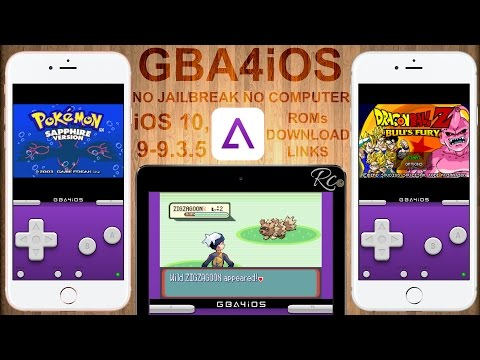 NEW Install GBA & GBC Emulator - GBA4iOS & ROMs iOS 11 - iOS 10 & 9 No Jailbreak, No Computer !!