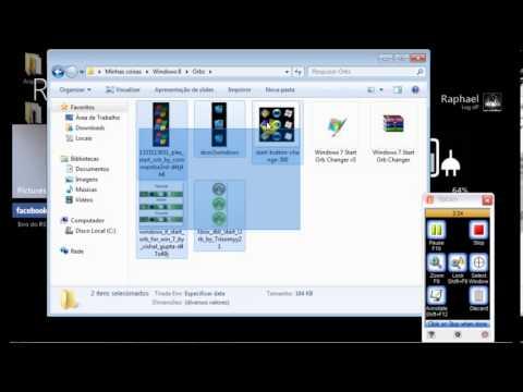 Como mudar a ORB (Menu Iniciar) do Windows 7