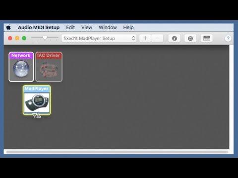 MadWaves MadPlayer Mac X 10.7 10.13 Midi Driver Installation - Part 1