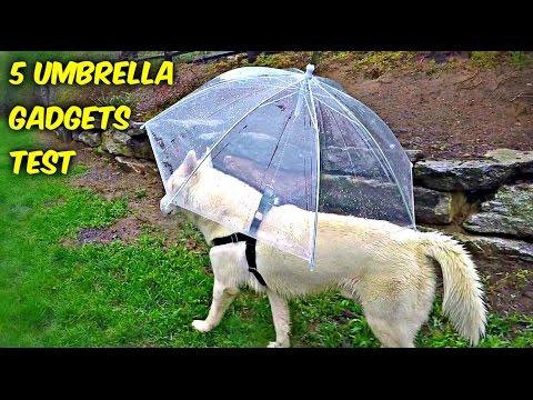 watch 5 Umbrella Gadgets put to the Test