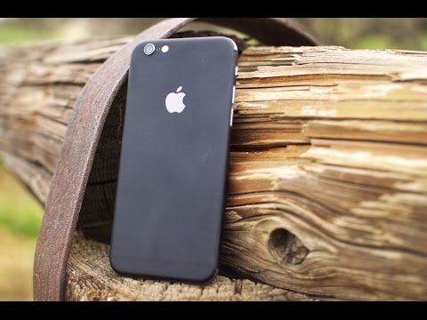 dbrand Matte Black Skin for iPhone 6 Review!
