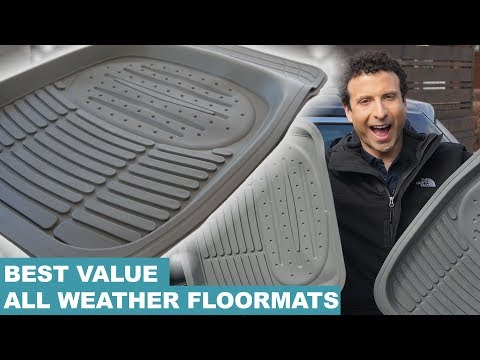 Best Universal Car & Truck Floor Liners in 2018 (Easy Clean Mats!)