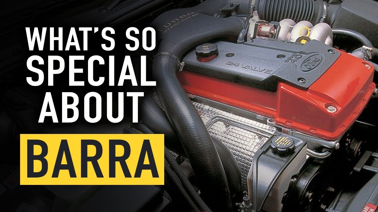 🤔 What's So Special About Ford's Barra? | TECHNICALLY SPEAKING |