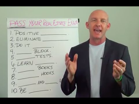 Preparing to Pass Your Real Estate License Exam the First Time - Kevin Ward