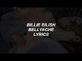 bellyache // billie eilish lyrics mp3