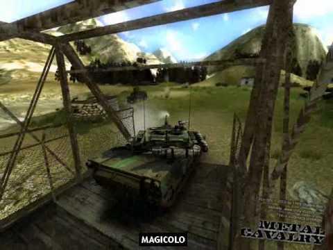 Metal Cavalry - 3D tank prototype Gameplay Magicolo 2013