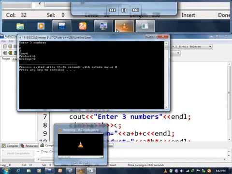 program#1__Input 3 numbers.Also find their sum, product & average