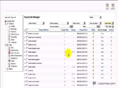 How to edit your keywords metatags in Joomla using SEO - YouTube-25flv