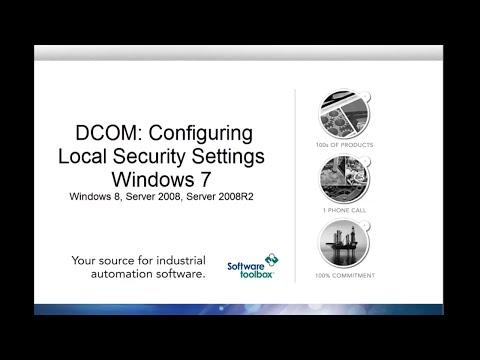 Local Security Settings - Windows 7