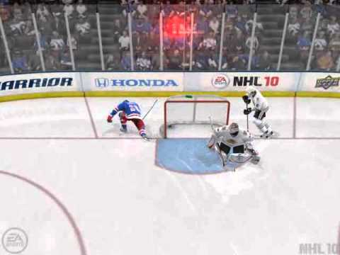 NHL 10 - Funny Goal