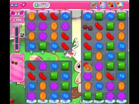 Candy Crush Level 76 2 Stars No Boosters