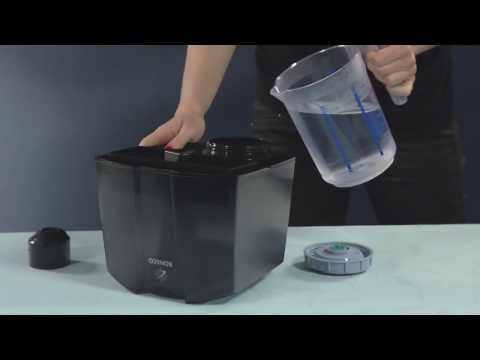 Ultrasonic Humidifier U7145: Operation video of BONECO healthy air