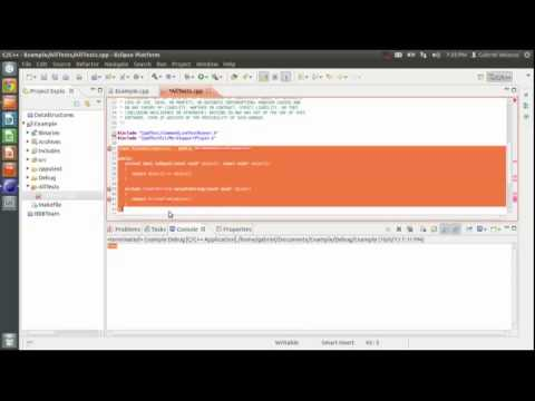 Clone CppUTest - Create Eclipse Project - Run Fail Me Test