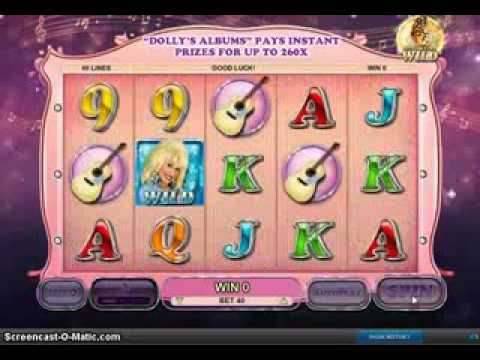 I win Big,Real Money today  $1200,    Dolly Parton      Online Casino Slot Free Games