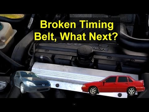 What happened if your vehicle timing belt came loose on an interference engine? - VOTD