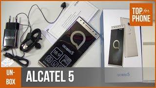 ALCATEL 5 - déballage par TopForPhone