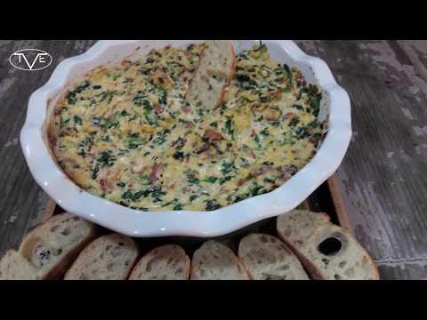 Spinach Bacon Dip Recipe | Episode 487