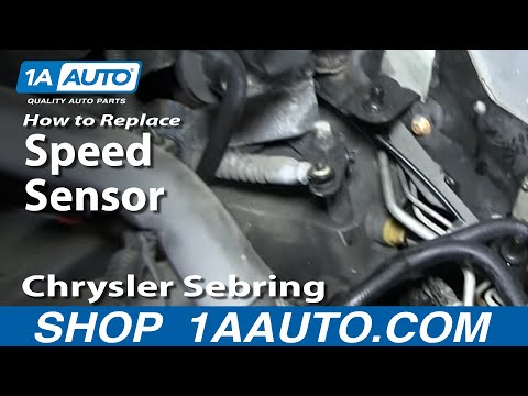 How To Install Replace Speedometer Transmission Output Sensor Chrysler Dodge Automatic Transmission