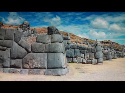 How were the POLYGONAL MEGALITHIC INCA WALLS BUILT? LIKE THIS?