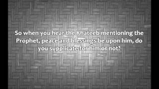 Can You Say Aameen To Supplications During The Khutba? Shaykh Muqbil