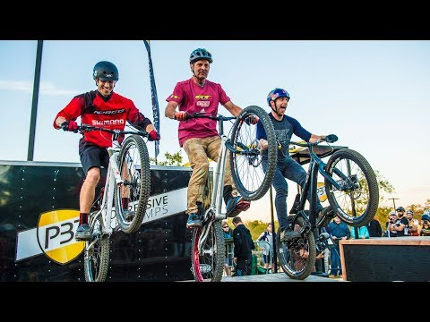 Legends: Legendary Trial Riders Danny MacAskill, Hans Rey and Ryan Leech in NWA