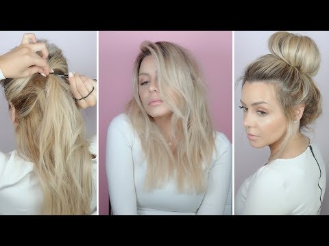 DIY - 5 easy spring no heat hairstyles