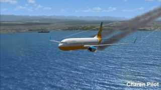EMERGENCY BELLY LANDING: BOEING 737-800