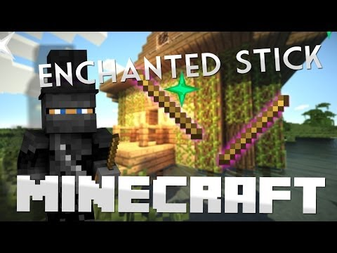 How To Make A Enchanted Stick in Minecraft!