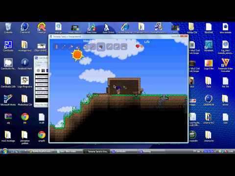 how to start at terraria