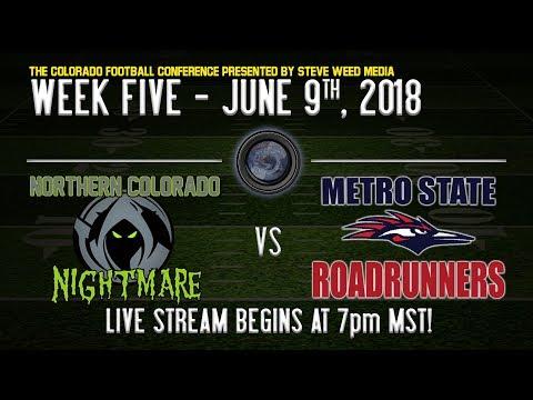 Week 5: NOCO Nightmare vs Metro Roadrunners - 6/9/18