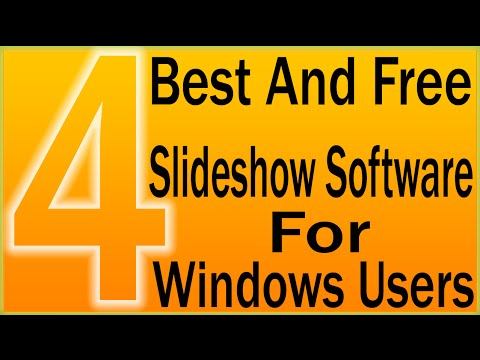 Free Slideshow Software | 4 Best And Free Slideshow Software For Windows Users