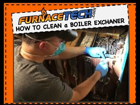 How to Clean a Boiler Heat Exchanger - Video #9