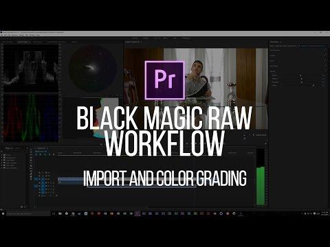 Premiere CC 2015: Import/Color Grading RAW Black Magic Cinema DNG Files