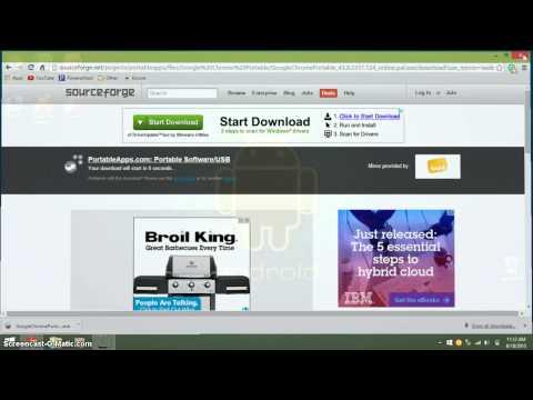 How to Get Google Chrome/Firefox on a USB Flash Drive