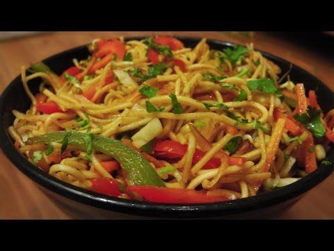 Veg Hakka Noodles Recipe - Indo Chinese Cuisine