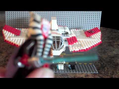 Lego Star Wars 7931 Jedi T-6 Shuttle Review