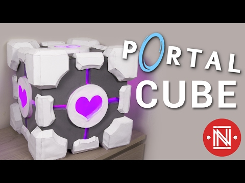 Making the Portal Cube (Companion Cube) || How-to