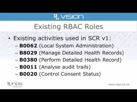 Summary Care Record 2 1   preparation before the next Vision update